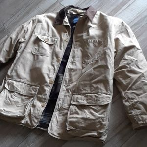 J.CREW...REMOVABLE LINING BARN JACKET
